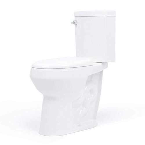 20 inch Extra Tall Toilet. Convenient Height bowl taller than ADA Comfort Height. Dual flush