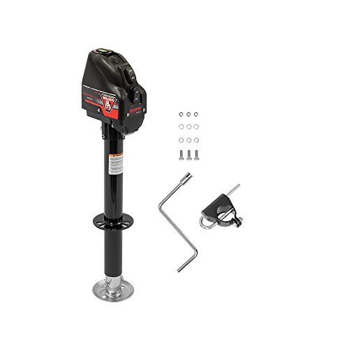 Bulldog 500199 Powered Drive A-Frame Tongue Jack with Spring Loaded Pull Pin -...