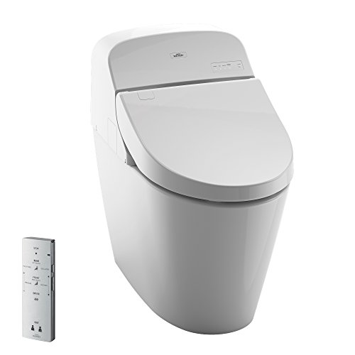 Toto MS920CEMFG#01 1.28-GPF/0.9-GPF Washlet with Integrated Toilet G400