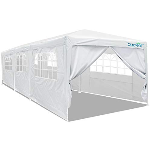 Quictent 10' x 30' Party Tent Gazebo Wedding Canopy BBQ Shelter Pavilion