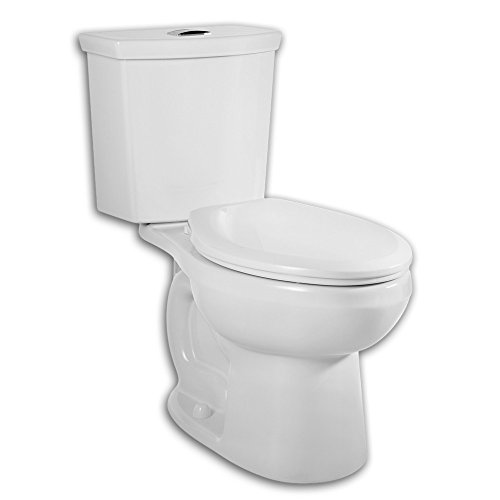 American Standard 2886.216.020 H2 Option Siphonic Dual Flush Right Height Elongated Two-Piece Toilet