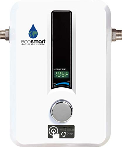 EcoSmart ECO 11 Electric Tankless Water Heater, 13KW at 240 Volts with
