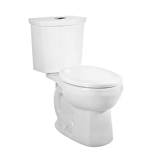 American Standard 2889218.020 H2Option Siphonic Dual Flush Normal Height Round Front Toilet