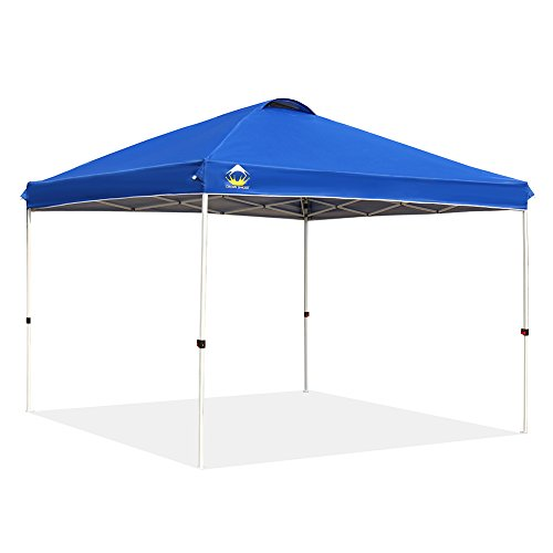 CROWN SHADES Patented 10ft x 10ft Outdoor Pop up Portable Shade Instant
