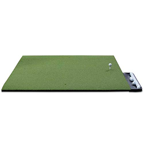 Dura-Pro Commercial Golf Mat Premium Turf. Includes Golf Tray and 3 Rubber