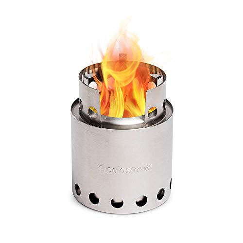 Solo Stove Lite - Portable Camping Hiking and Survival Stove