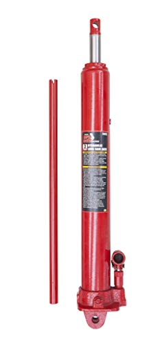 Torin Big Red Long Ram Hydraulic Jack: Single Piston, Clevis Base, 3 Ton