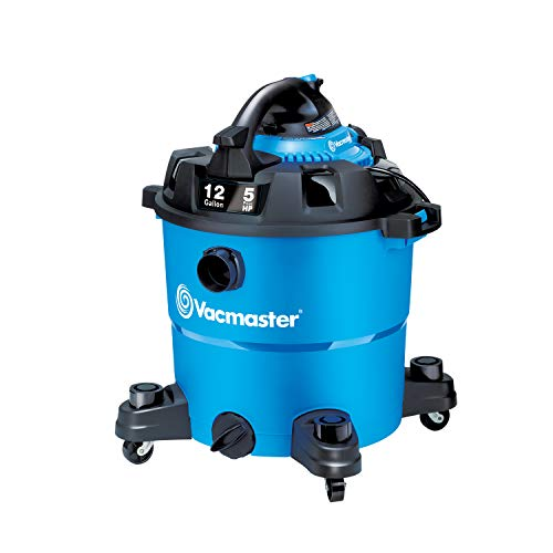 Vacmaster, VBV1210, 12 Gallon 5 Peak HP Wet/Dry Shop Vacuum with