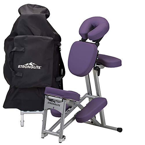 Stronglite portable massage chair ultra-strong, folding tattoo