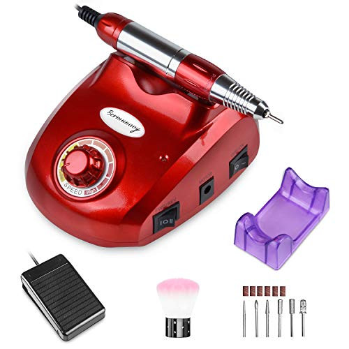 Bermunavy Electric Nail Drill - Professional 30000RPM Electric Nail File Machine