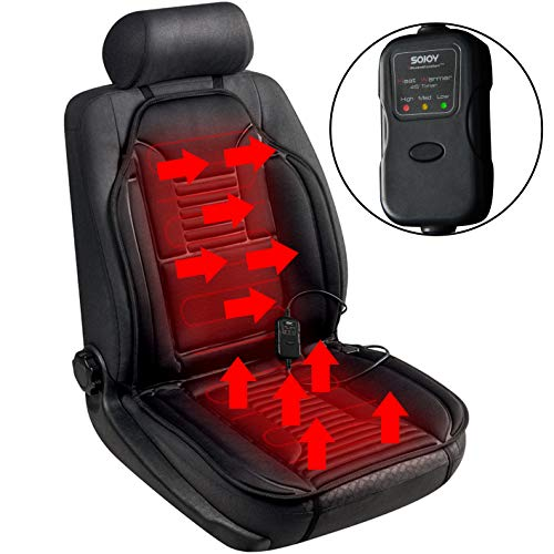 Sojoy Universal 12V Heated Smart Multifunctional Car Seat Heater