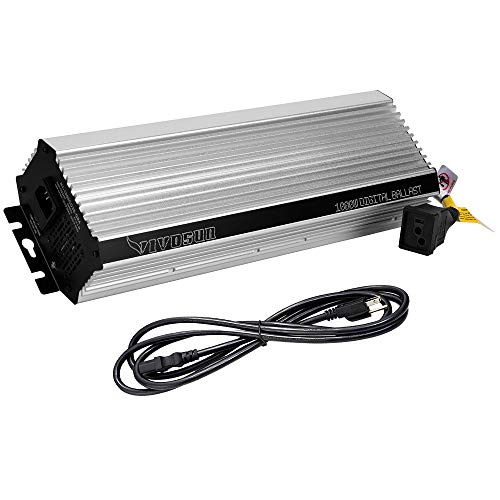 VIVOSUN 400WATT Dimmable Electric Digital Ballast Enhanced Internal Fan Cooled