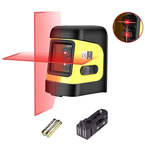 Firecore F112R Self-Leveling Horizontal/Vertical Cross-Line Laser Level