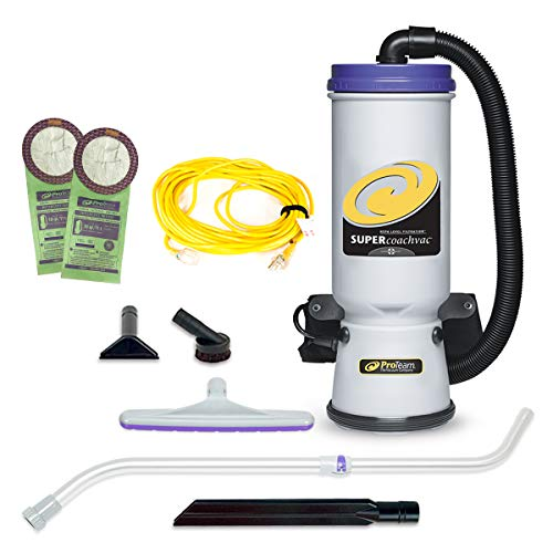 ProTeam Backpack Vacuums,Super CoachVac Backpack Vacuum Cleaner