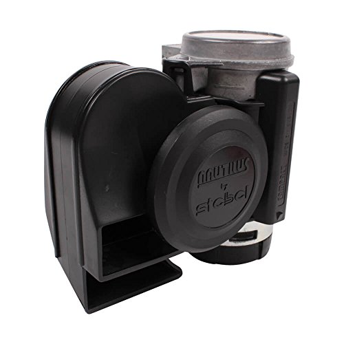 Stebel 11690019 – Nautilus Compact Mini Air Horn Black