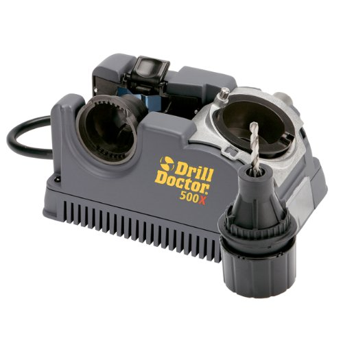 Drill Doctor DD500X 500x Drill Bit Sharpener, Professional Design for Durability
