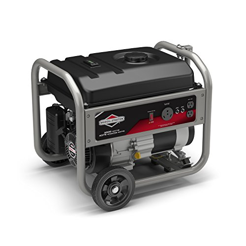 Briggs & Stratton 30676, 3500 Running Watts/4375 Starting Watts Gas Powered Portable Generator