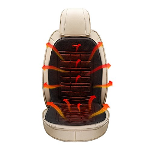 AUDEW Heated Seat Cushion Winter Car Seat Warmer Cover 12V Plug's