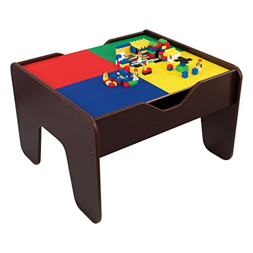 KidKraft 2-in1 Activity Table Espresso