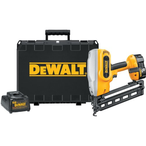 DEWALT DC618K XRP 18-Volt Cordless 16 Gauge 20 Degree Angled Finish Nailer Kit