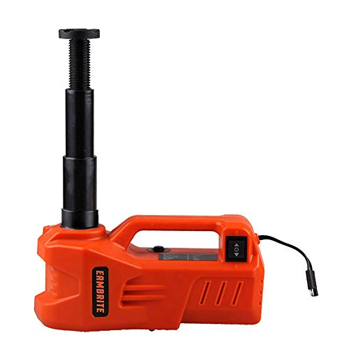 EAMBRITE 12V DC Electric Hydraulic Car Floor Jack With LED Light