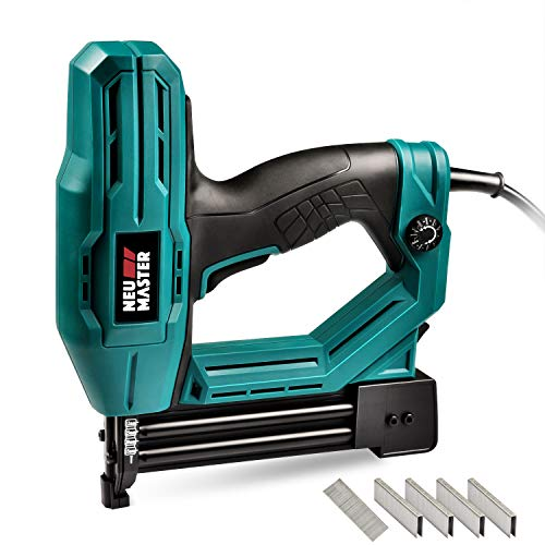 Electric Brad Nailer, NUE MASTER NTC0040 ELECTRIC Nail Gun/Staple Gun