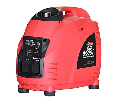 Coleman Powersports Portable Generator, 3500 Watt, Gas Powered (CG3500i-A)