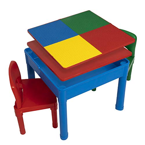 Play Platoon Kids Activity Table Set - 3 in 1 Water Table, Craft Table