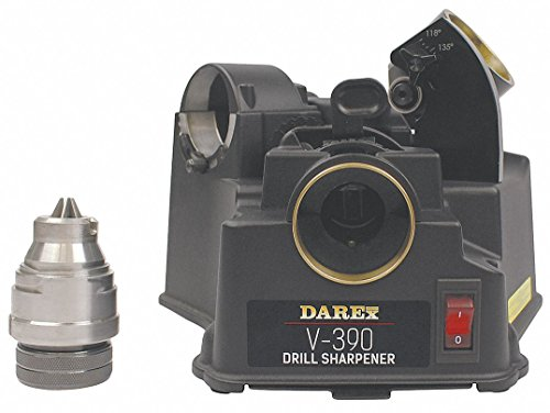 Darex Drill Bit Sharpener Model V390 Capacity 1/8 to 3/4