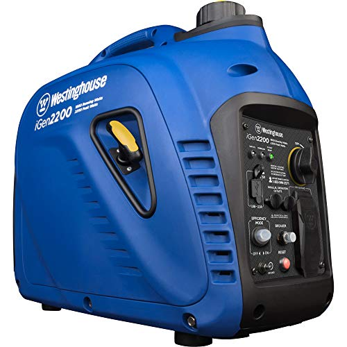 Westinghouse iGen2200 Super Quiet Portable Inverter Generator - 1800 Rated Watts