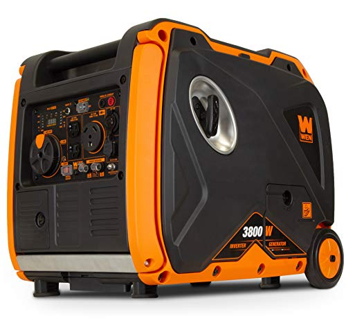 WEN 56380i Super Quiet 3800-Watt Portable Inverter Generator with Fuel Shut-Off
