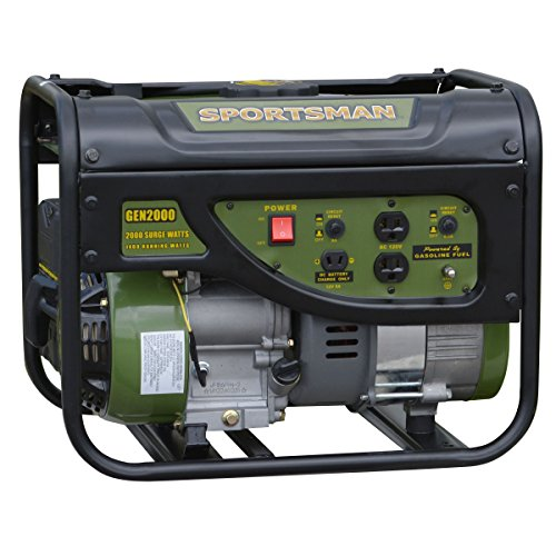 Sportsman GEN2000, 1400 Running Watts/2000 Starting Watts, Gas Powered Portable Generator