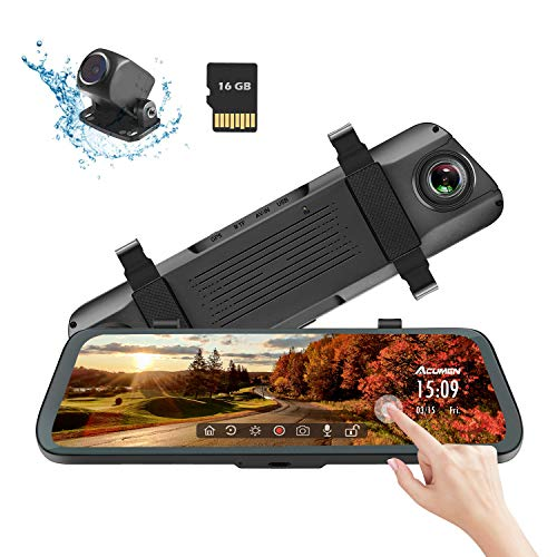 Acumen Mirror Dash Cam Digital Rearview Mirror