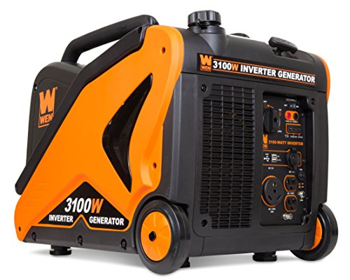 WEN 56310i-RV Super Quiet 3100-Watt RV-Ready Portable Inverter Generator Carb Compliant