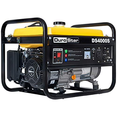 Durostar DS400S Gas Powered 4000 Watt Portable Generator- RV Camping Standby