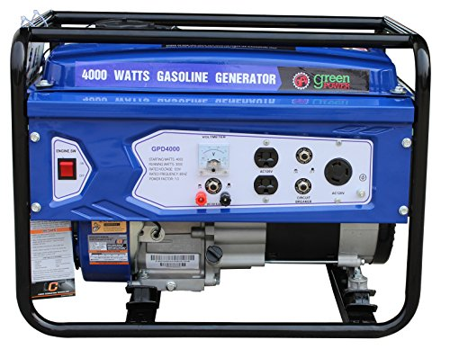 Green-Power America GPD4000 4000W Consumer Select Series Recoil Start Generator