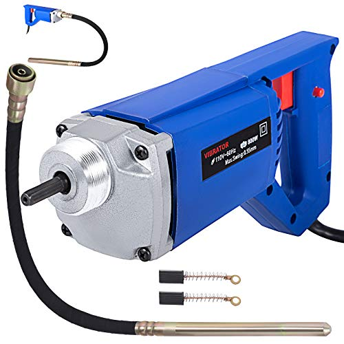 Mophorn 800W Hand Held Electric Concrete Vibrator 4200 VPM 3/4 HP with 3.9