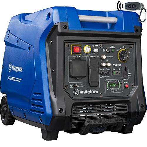 Westinghouse igen4500 Super Quiet Portable Generator-3700 Rated Watts and 4500 Peak Watts
