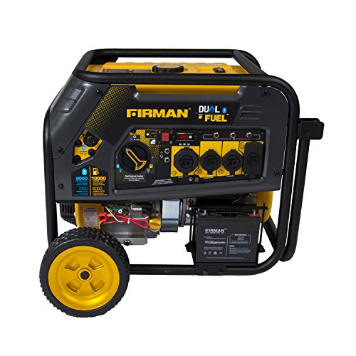 Firman H08051 Electric Start Gas or Propane Dual Fuel Portable Generator