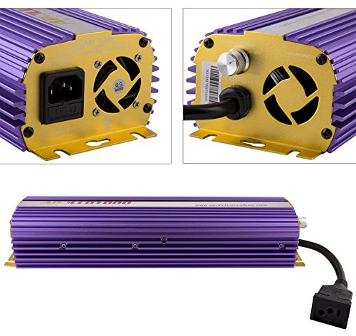 Apollo Horticulture APL600 600 watt HPS MH digital dimmable ballast