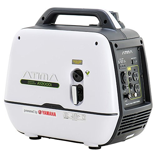 Atima Inverter Generator 2000 watts,AY2000i Powered by Yamaha Engine Super Quiet Gas RV