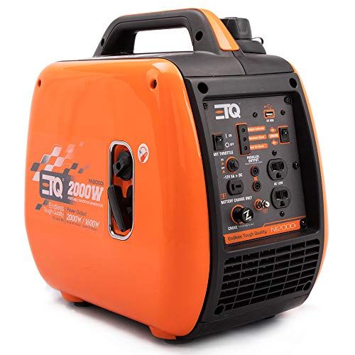 ETQ NI2000i Tough Quality 2000-Watt Portable Inverter Generator