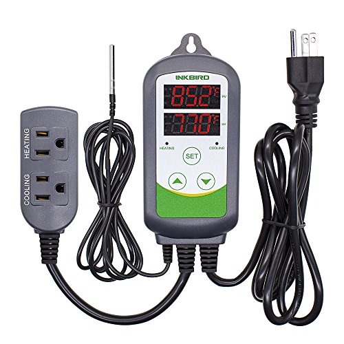 Inkbird ITC-308 Digital Temperature Controller Outletsmoker Thermostat