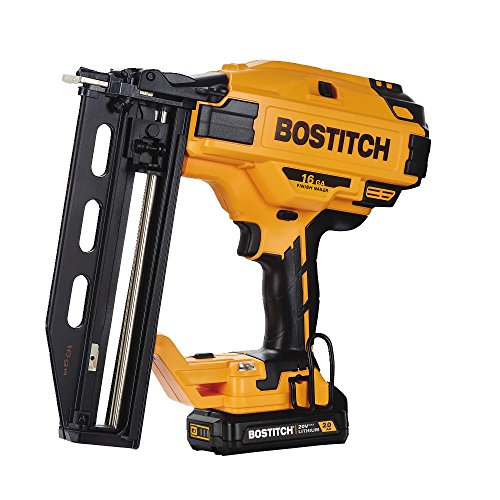 BOSTITCH BCN662D1 20V MAX 16 Gauge Cordless Straight Finish Nailer