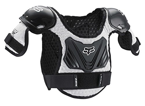 FOX TITAN KIDS ROOST DEFLECTOR BLACK /SILVER MD /LG AGES 6-9
