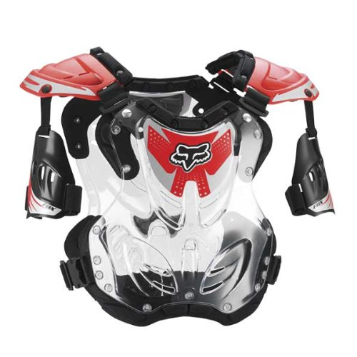 FOX R3 ROOST DEFLECTOR RED SM 50-120+ LB/4'3'-5'4'
