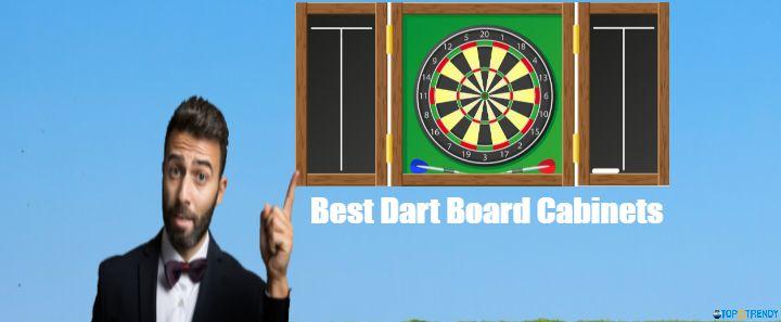 Best Dart Board Cabinets