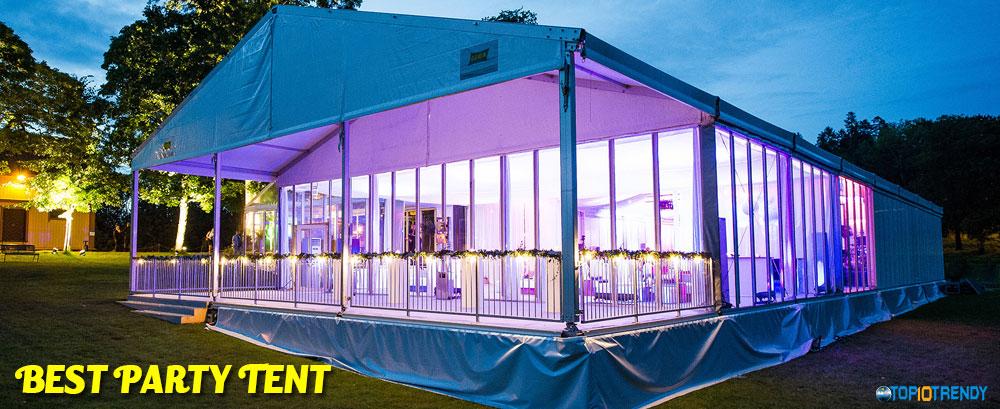Best Party Tent